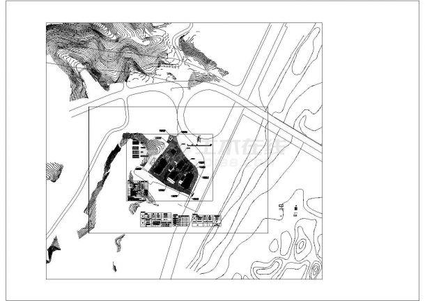 君雅社区第二批安置房建造工程(消防总图 海绵城市)--给排水设计-图一