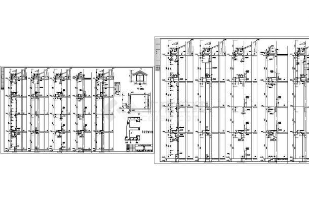 长沙市小学教学楼建筑方案设计图纸-图二