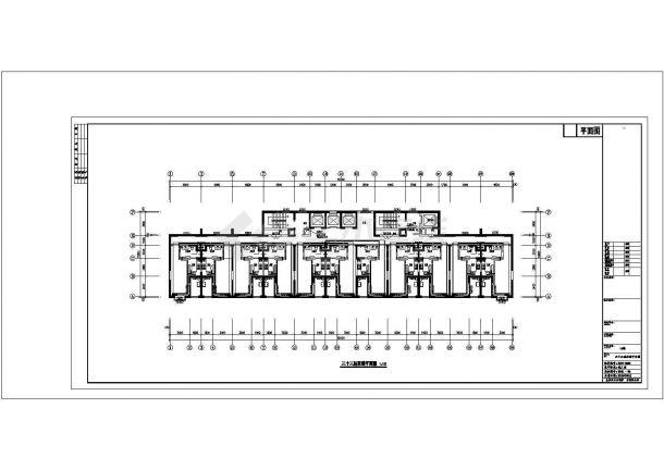 深圳市某居住区2万平米33层高层住宅楼全套采暖系统设计CAD图纸-图一