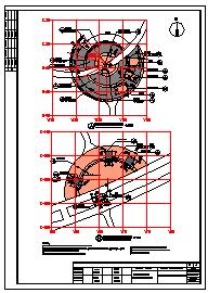 山东某县环岛公园景观设计cad图纸-图一