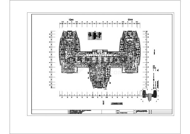 XXX医院智能照明系统cad非常标准图纸-图一