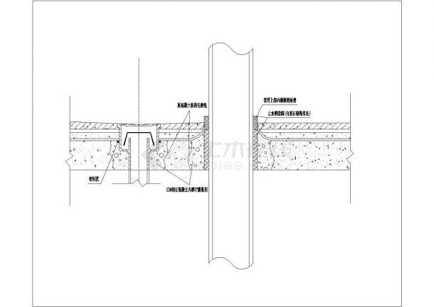 建筑工程阳台防水节点大样图-图一