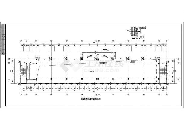 艺术学校四层综合教学楼建筑设计方案-图一
