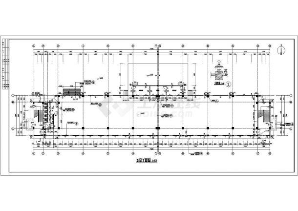 艺术学校四层综合教学楼建筑设计方案-图二