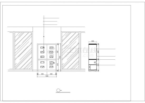 济南市双旭嘉园小区经典户型全套装修装饰设计CAD图纸-图一