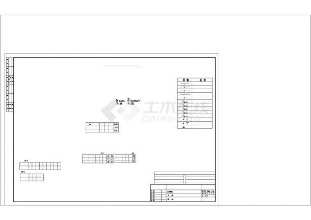 武汉某别墅给排水施工图CAD图纸设计-图二