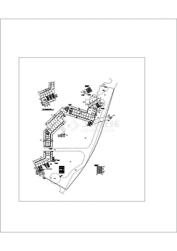 [重庆]地下商场通风空调及防排烟系统设计施工图(含负荷计算)-图一