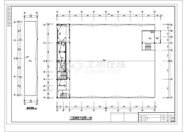 经济开发区标准3层3800㎡厂房电气施工图-图二