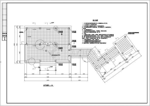 某公园整套亭子CAD景观设计施工图-图一