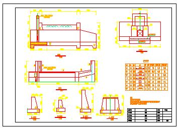 某农业开发水利工程设计cad施工图-图二