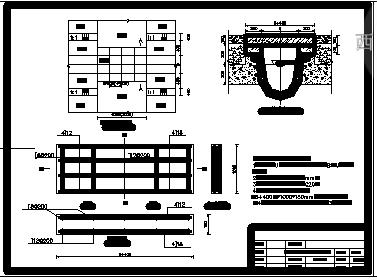 【安徽】农田水利灌溉全套cad设计图纸(土地整理)-图一