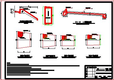 【江西】小(二)型水库除险加固工程全套cad设计施工图(大坝 溢洪道 涵管)-图一