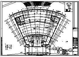 某市三层学习教育中心电气施工cad图(含弱电,消防设计)-图一