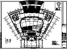 某市三层学习教育中心电气施工cad图(含弱电,消防设计)-图二