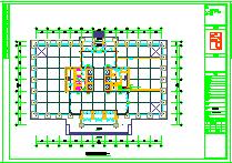 [新疆]13万平综合区采暖通风防排烟系统设计施工图纸(热风幕采暖 建筑形式多)-图一