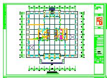 [新疆]13万平综合区采暖通风防排烟系统设计施工图纸(热风幕采暖 建筑形式多)-图二