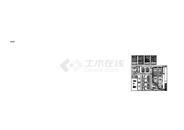 室外燃气管道设计_某市航空货运站室外燃气管道施工cad图纸-图一