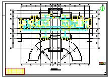 [北京]商业综合体暖通空调系统及动力站设计施工图纸(锅炉工艺系统 系统流程图多)-图二