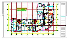 [福建]某国际商贸中心通风空调及防排烟设计全套施工图纸(含负荷计算)-图一