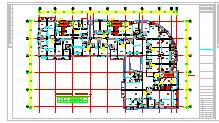 [福建]某国际商贸中心通风空调及防排烟设计全套施工图纸(含负荷计算)-图二