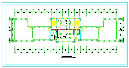 某健身房空调系统工程cad施工设计图-图一