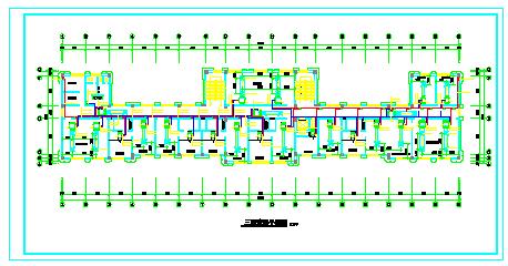 某健身房空调系统工程cad施工设计图-图二