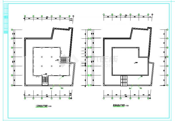 某小型商场给排水施工图设计-图二