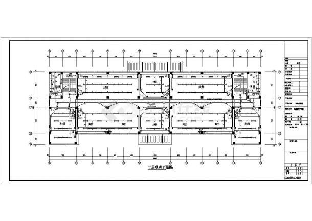 [四川]职业技术学校综合教学楼全套电气施工设计图纸-图二
