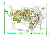 新昌鼓山公园景观设计CAD施工图-图一
