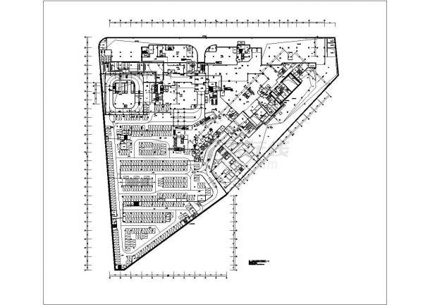 [广州]多层商业裙楼暖通空调系统设计全套施工图(大院作品)-图一