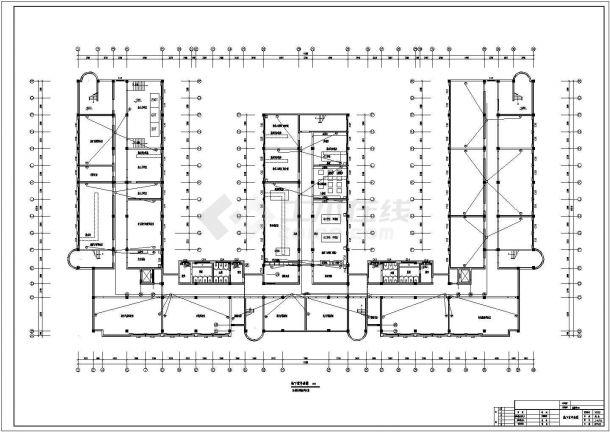 某学院大型实验楼电气设计图纸-图二