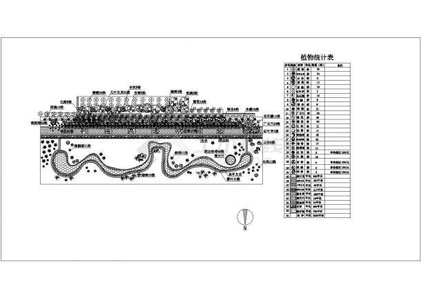 高速公路站区景观规划设计图-图一