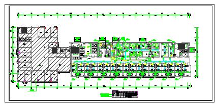 [安徽]高层医疗病房楼空调通风及防排烟系统cad设计施工图(洁净设计)-图二
