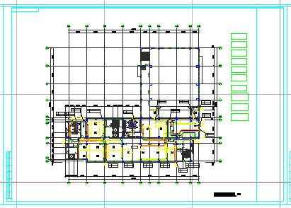 [广东]大型医院建筑综合体空调通风及防排烟系统cad施工图(大院设计内含图纸172张)-图一
