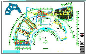 [江苏]多层疗养医院空调通风及防排烟系统cad施工图(机房设计)-图二