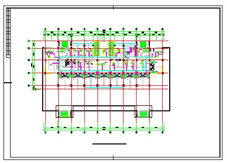 [山西]高层医疗建筑空调通风及防排烟系统cad施工图(采暖设计动力设计)-图二