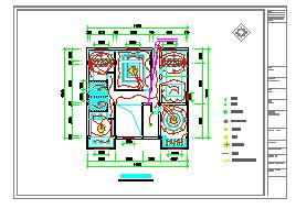 某酒店室内装饰装修工程施工图(含效果)-图一