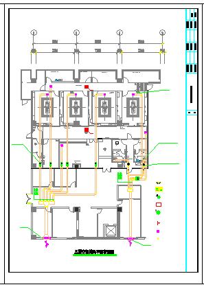 医院洁净手术室空调通风及防排烟系统cad施工图(洁净设计)-图一