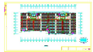 [江苏]大型烟草仓库全套电气cad设计图纸(2个仓库+变电所)-图一
