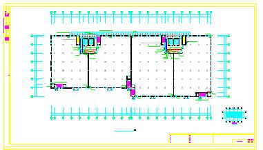 [江苏]大型烟草仓库全套电气cad设计图纸(2个仓库+变电所)-图二
