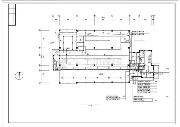 恩平江洲目标局消防自动报警系统设计-图二