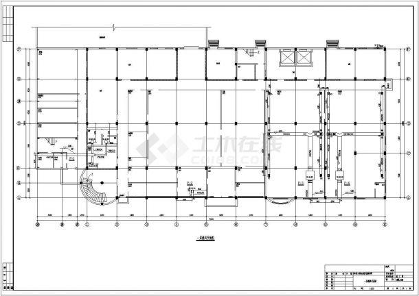 某多层大输液车间中央空调设计cad全套施工图( 含设计说明)-图二