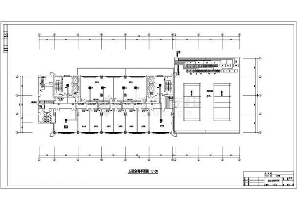 某高层办公楼舒适性空调多联机设计cad全套施工图(含设计说明)-图二