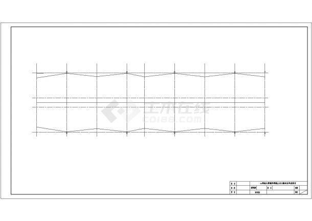 某多层框架结构综合办公楼工程毕业设计cad详细建筑施工图(含设计说明,含结构设计,含计算书、任务书)-图一