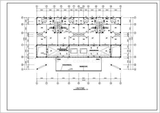 九龙道路站配电设计cad全套电气施工图( 含设计说明)-图一