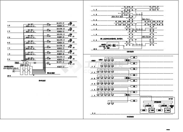 8层肿瘤医院改建接建工程弱电系统设计施工cad图纸(含说明)-图一