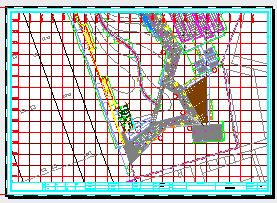 上海黄埔区某公园景观设计CAD施工图纸-图一