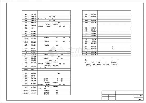 龙归商贸城商铺全套装修施工设计cad图纸(含总平面图,设计说明)-图二