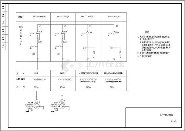 详图设计_酒店电气设计图纸-图一