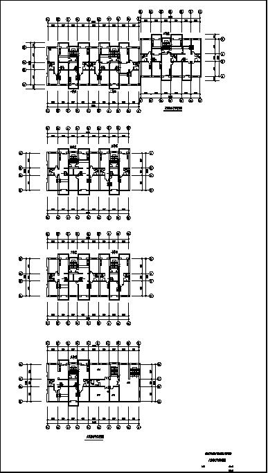 某综合性住宅弱电系统设计施工cad图纸-图一